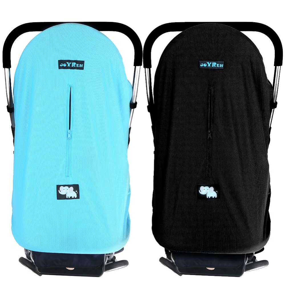 Baby Stroller Pram Pushchair Mosquito Shield Sun Wind Shield Dustproof Cover