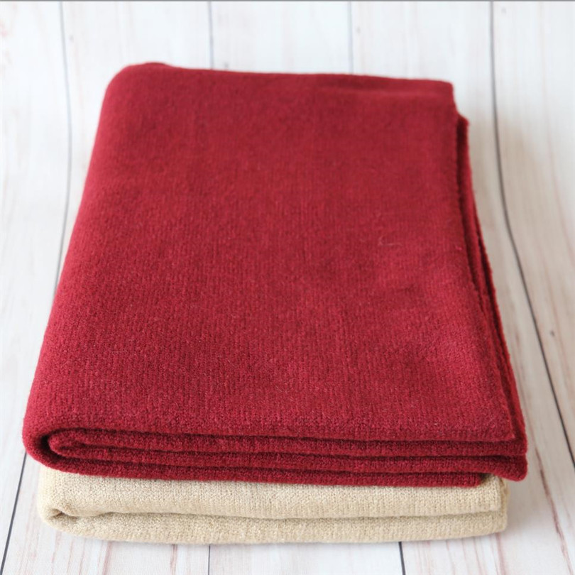 Nouveau-né swaddle couverture souple bébé photographie accessoires bébé stretch tricot couverture pour emmailloter toile de fond accessoires photo
