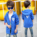 Boys Coats Outdoor Hooded Jackets For Boys Clothing Children Outerwear Spring Autumn Hiking Clothes 4 6 8 10 12 13 14 15 years