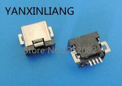 <font><b>10</b></font> pcs <font><b>Mini</b></font> <font><b>USB</b></font> Female 4 <font><b>Pin</b></font> SMT SMD PCB Socket <font><b>Connector</b></font> image