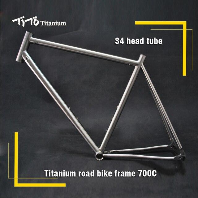 Free shipping !!! TiTo titanium road bike frame 700C titanium road ...