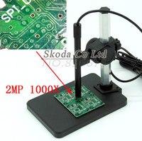 무료 배송 최신 1000x 6led 2mp usb 현미경 디지털 현미경 휴대용 홀더 기본 펜 현미경|망원경|도구 -