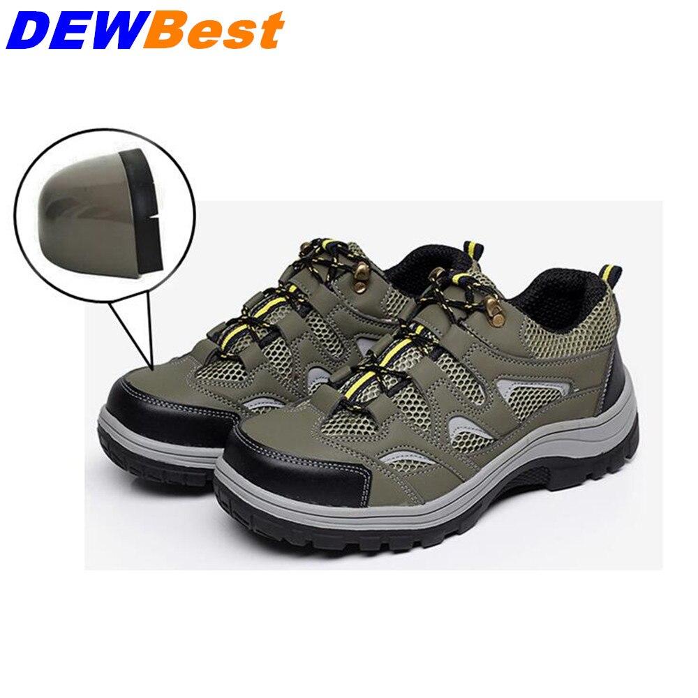 Aus Dem Ausland Importiert Männer Sicherheit Schuhe Arbeit Stahl Kappe Kappen Stiefel Casual Skateboard Zerschlagen Und Piercing Sicherheit Schutz Schuhe