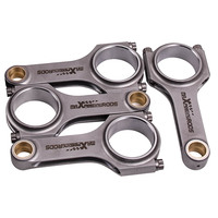 Connecting Rods for VW Golf MK4 Passat Audi TT 1.8T 144mm 19mm Pin ARP2000 800HP not taper small end design