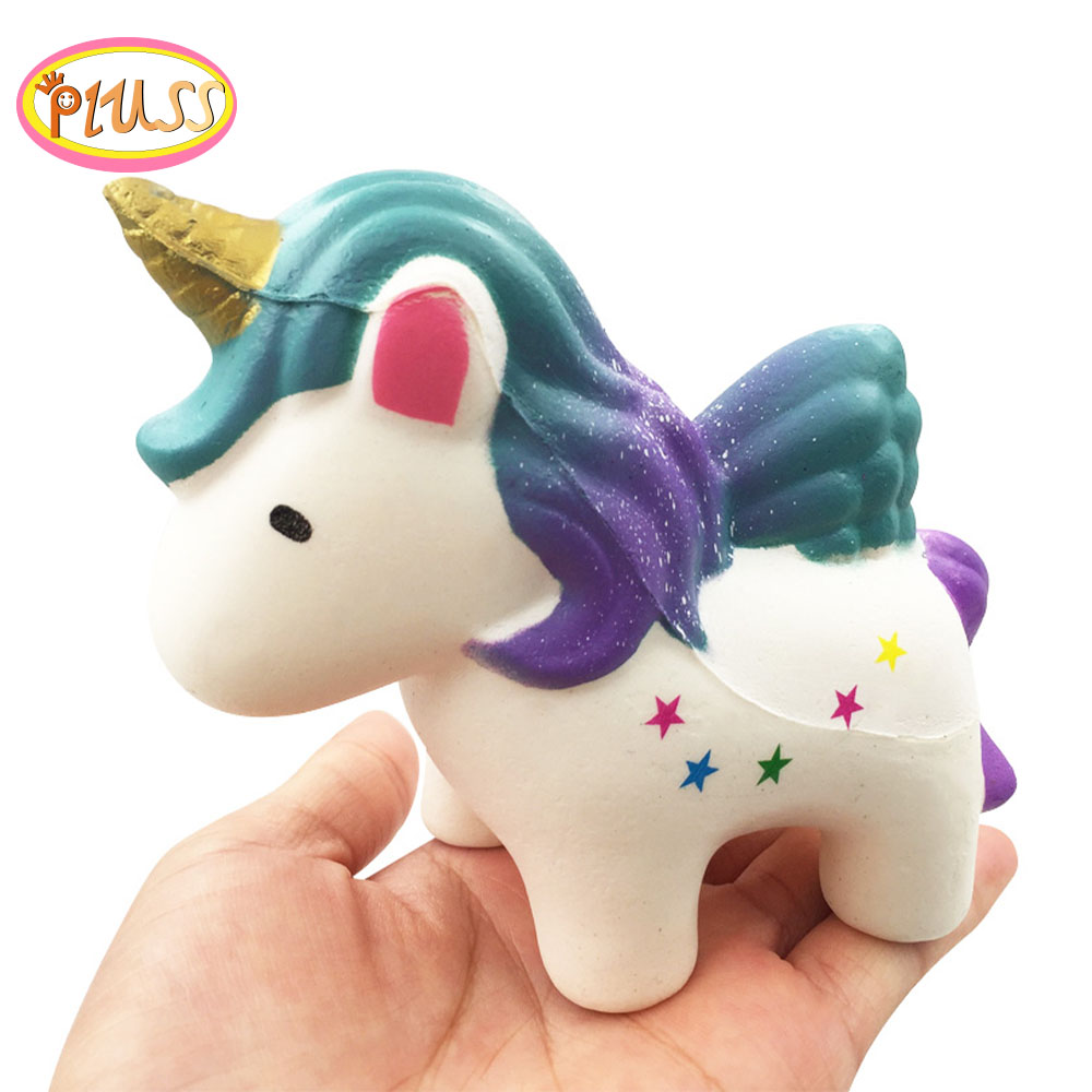 Kawaii Squishy Jumbo Slow Rising Unicorn Toys Antistress Squishy Sqeeze Toys Anti Stress Gifts For Kid Adults Drop Shipping