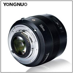 Image 4 - Объектив YONGNUO YN50MM 50 мм F1.4N F1.4 E Standard Prime, AF/MF для Nikon D7500 D7200 D7100 D7000 D5600 D5500 D5300 D5200 D5100