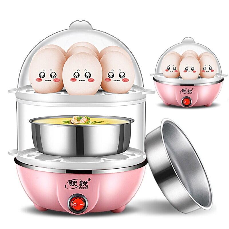 Micro-ondes oeuf vapeur oeuf chaudière mini automatique mise hors tension oeuf cuiseur ménage acier inoxydable petit déjeuner oeuf micro-ondes