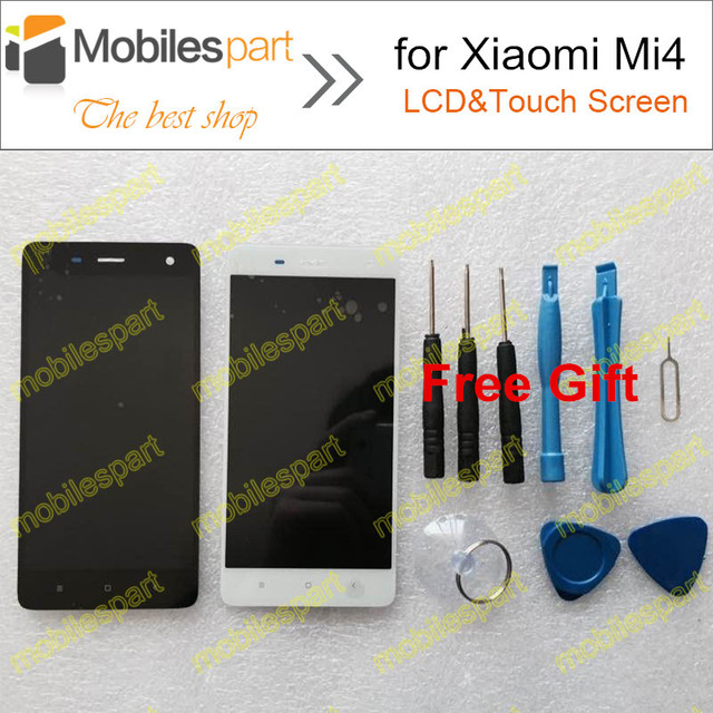 LCD Screen for Xiaomi Mi4 New High Quality  Replacement LCD Display +Touch Screen for Xiaomi Mi4 M4 Mi 4 Smartphone