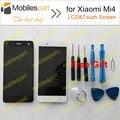 Pantalla lcd para xiaomi mi4 nueva pantalla lcd de repuesto + pantalla táctil de alta calidad para xiaomi mi4 m4 mi 4 smartphone
