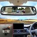 Visão CCD Noite Car Câmara de marcha + 5 polegada Tft Lcd Color Camera Espelho Retrovisor Monitor Do Carro Para Peugeot 307 308 3008 3008C