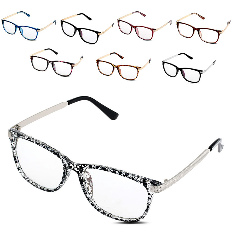 2017 men women vintage eyeglass frame glasses spectacle clear lens optical eyewear mar18_15