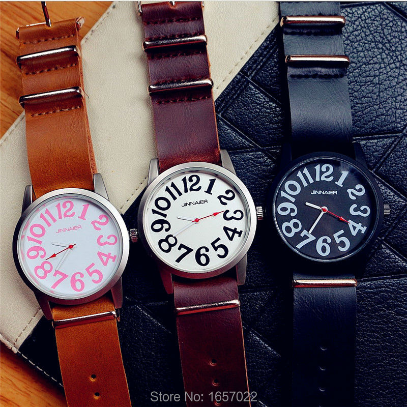New arrived fashion women man long strap simple design quartz wristwatch for ladies couple sports casual leather watches kingsky new fashion small women watches famous design quartz watch black pu leather strap wristwatch