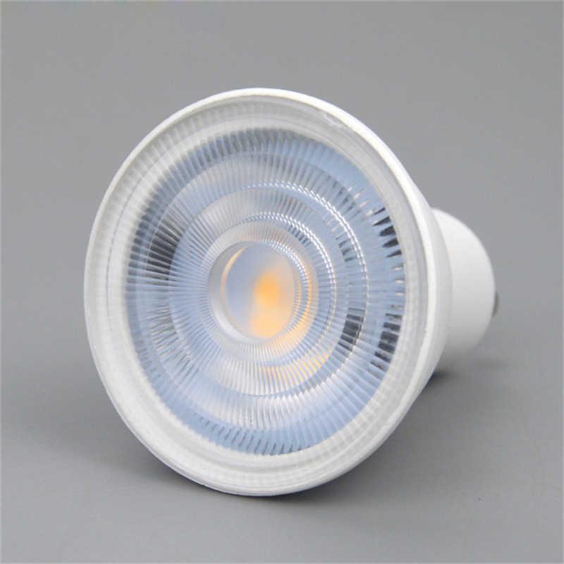 GU10 MR16 LED הנורה 6 W AC 220 V GU Lampada MR LED הקבל מנורת דיפוזיה זרקור חם/קר לבן אנרגיה חיסכון בית תאורה