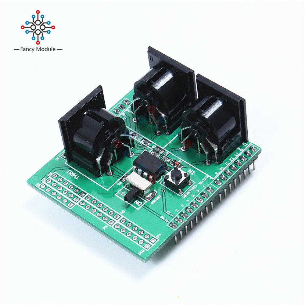 MIDI Shield Musical Breakout Board Instrument Digital Interface Adapter Plate For Arduino 5v 2 channel ir relay shield expansion board for arduino