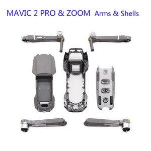 Image 1 - Nouveau DJI Mavic 2 PRO/ZOOM bras corps coque cadre moyen coque inférieure couvercle supérieur Mavic 2 pièces de rechange de réparation de remplacement