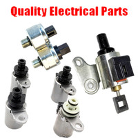 JF011E RE0F10A REOF10A CVT Transmission Kit Solenoids 4 2 Switches 1 Stepper Motor For Dodge Caliber