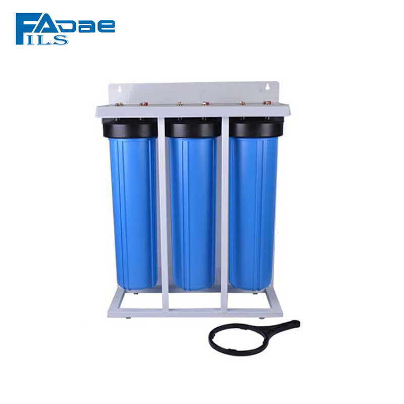 FILSADAE 3 Stage 1.5in. Female pipe Filtration System Water Filter Whole House 20in x 4.5in with frame 110v home energy savings whole house energy management system e3 electrical noise filtration equipment protection