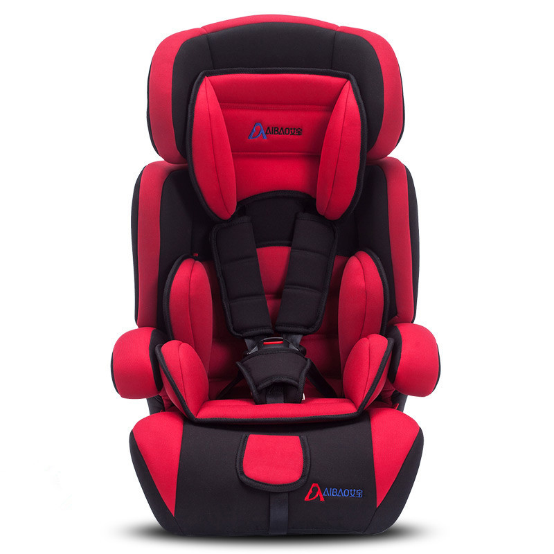 Children Car Safety Seat Baby Sitting Chair Safety Carseat Adjustable Sitting and Lying Kids Booster Seat 9M-12Y