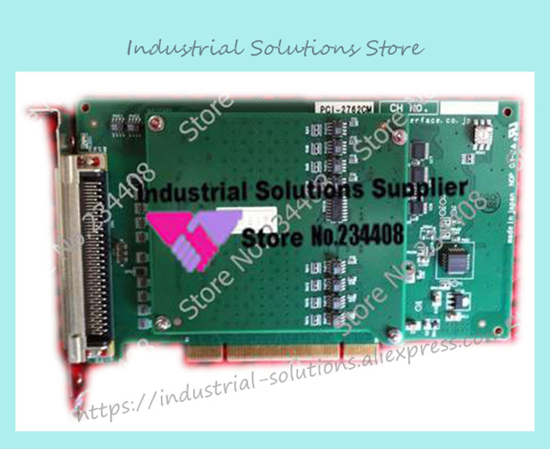цена на PCI-2762CM DIO32/32 high speed insulating 100% tested perfect quality