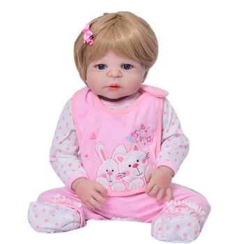 Muñeca Bebe reborn 55cm realista cuerpo completo de silicona vinilo muñecas reborn bebé juguetes para niñas cumpleaños bb reborn boneka