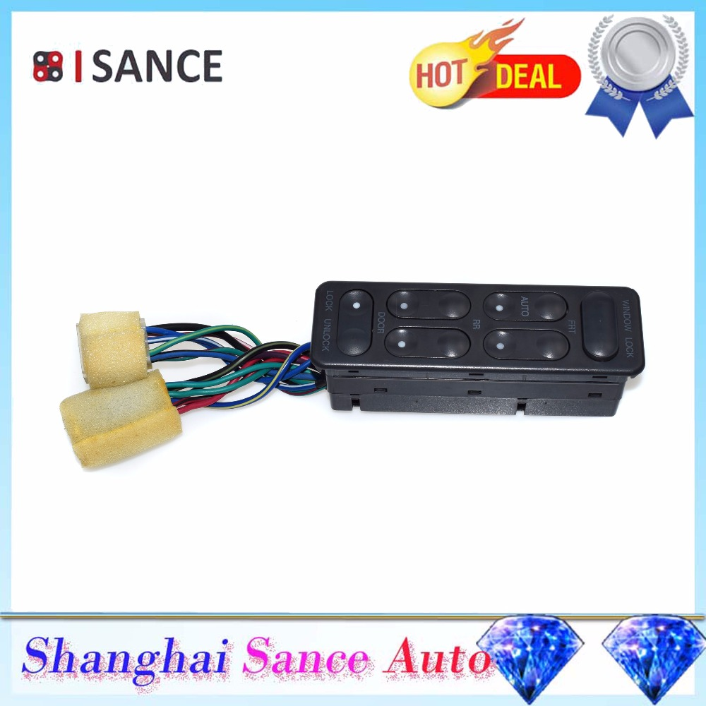 Isance Universal Power Master Electric Control Window Switch For Daewoo Lanos Prince Cielo 96134796 Dw004 Window Switch Power Masterwindow Control Switch Aliexpress
