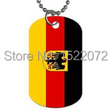 Germany Flag  Dog Tag Necklace German FH890119