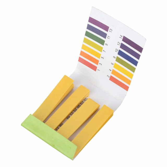 160 stücke PH1 14 Lackmus Test Papier Streifen Urin Speichel Tester ...