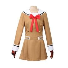 Cgcos express explosión sueño! poppin'party tae hanazono coat dress juego anime cosplay traje de halloween uniforme escolar conjunto completo nuevo