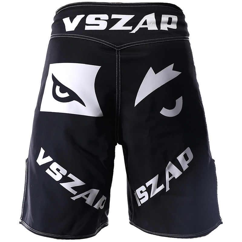Vszap Kinerja Teknis Celana Pendek Olahraga Pelatihan dan Kompetisi MMA Celana Pendek Tiger Muay Thai Tinju Celana Pendek Mma Pendek