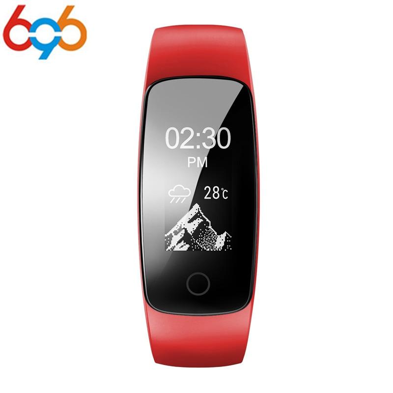EnohpLX ID107 Plus HR Bluetooth Smart Bracelet Smartband Heart Rate Monitor Multi sports Cardio Fitness Guided Breathing Tracker
