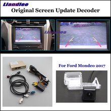 Liandlee For Ford Mondeo 2017 Original Screen Update System Car Rear Reverse Parking Camera Digital Decoder Reversing system