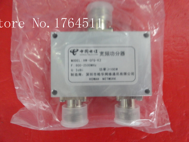 [BELLA] The Supply Of China Telecom Broadband Power Divider HW-GFQ-K2 800-2500MHz N  --2PCS/LOT