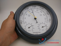 3 In 1 Aneroid 8 Acrylic Black Finish Traditional Barometer With Temperature And Hygrometer Humidity White