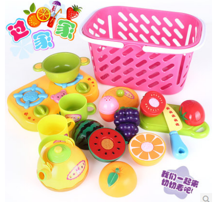 Fruit Toys Child Fruit Qieqie See Toys Kitchen Set 1set Baby Gift