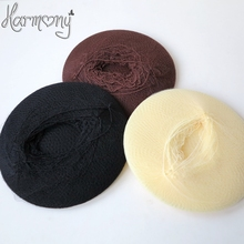 FREE SHIPPING!! 220 pieces/lot black brwon blonde Nylon Hair Nets invisible hair net is used for packing curly hair