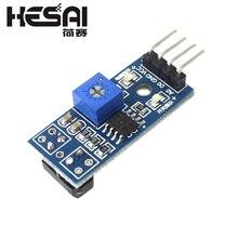 TCRT5000 инфракрасная отражательная способность сенсор модуль обхода препятствий Трассировка сенсор Трассировка модуль для arduino Diy Kit
