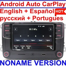 Android Auto CarPlay MirrorLink Noname RCD330 Plus R340G 6.5MIB Radio Voor Golf 5 6 Jetta CC Tiguan Passat Polo Toureg 6RD035187B