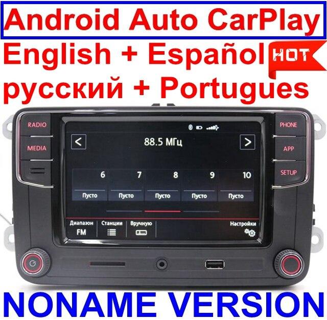 Android Auto CarPlay MirrorLink Noname RCD330 Plus R340G 6.5MIB Radio pour Golf 5 6 Jetta CC Tiguan Passat Polo Touareg 6RD035187B