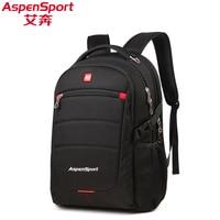 Aspensport Men Fashion 15 6 Laptop Backpack Large Capacity Business Backpacks Notebook Computer Bag School Travel
