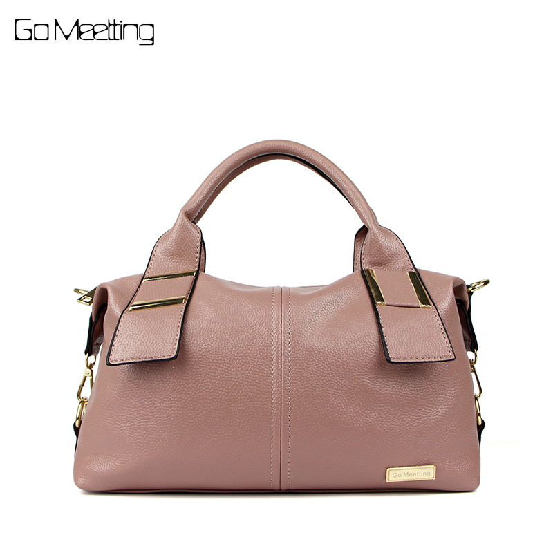 Go Meetting Women Bag Luxury Fashion Handbag Ladies Famous Designer Brand Shoulder Bags Woman Leather Crossbody Messenger Bags teridiva luxury handbags women bags designer messenger shoulder bag brand ladies crossbody leather bags tote bag fashion handbag