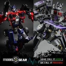 Weijiang Model TF Wei Jiang Transformation Robot Metal Optimus Commander Prime OP M01 & M01 Black Apple Flat Larger VERSION