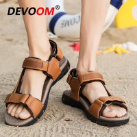 Classic Mens Sandals 2019 Summer Clogs Men Zapatos De Hombre Men Sandals Leather Men Sandals Men's Shoes Beach Sandals Crocse