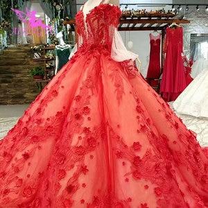 Image 4 - AIJINGYU 格安ウェディングドレス割引リアル画像スイスセクシーなヴィンテージドレス袖ビクトリア朝のウェディングドレス