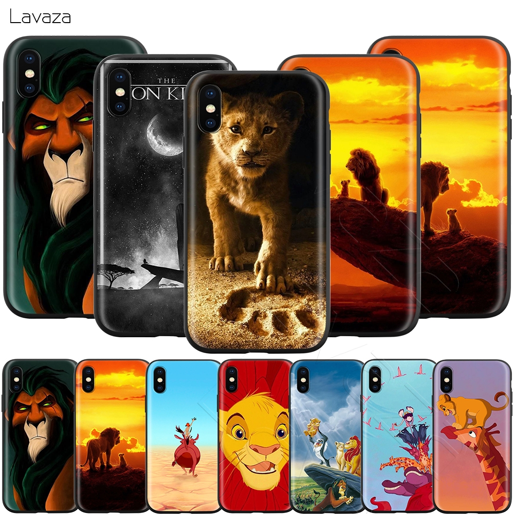 Lavaza Cartoon Movie <font><b>Lion</b></font> <font><b>King</b></font> <font><b>Case</b></font> for <font><b>iPhone</b></font> 11 Pro XS Max XR X 8 7 <font><b>6</b></font> 6S Plus 5 5s se image