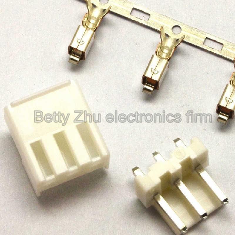 100 CÁI/LỐC VH3.96-3 P 3PIN khối thiết bị đầu cuối 3.96 MÉT kết nối sân: plug + nhựa kim thẳng ổ cắm + thiết bị đầu cuối