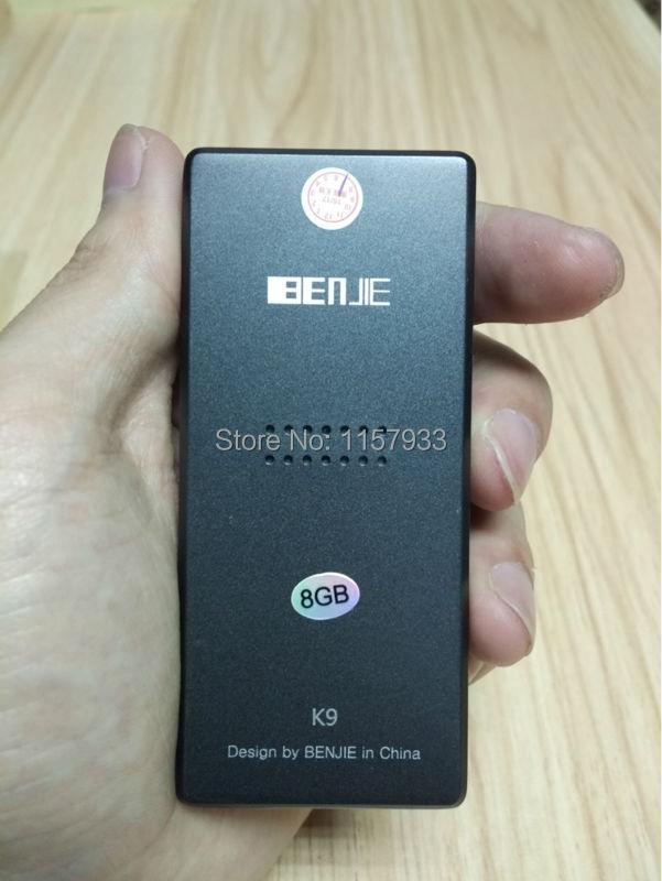 Unterhaltungselektronik Herrlich Heißer Verkauf Benjie K3 Legierung Mp3 Musik-player 8g Lossless Hifi Mp3 Player Mini Tragbare Audio-player Fm Radio Ebook Voice Recorder