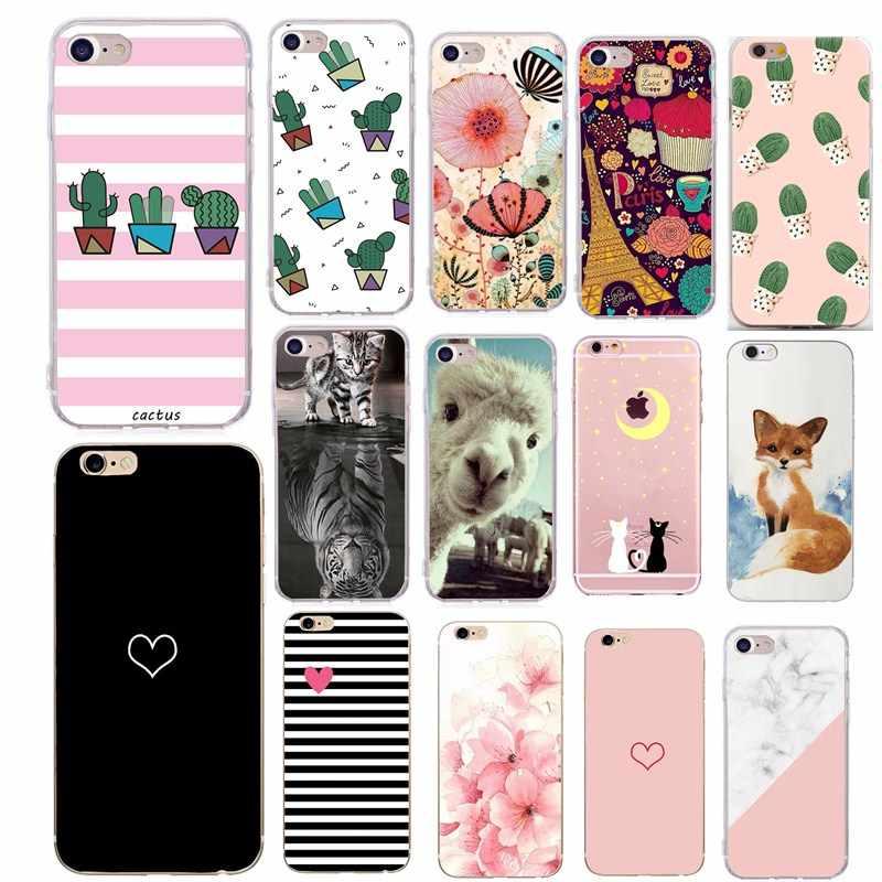 For Iphone 6S 6 Cover Capa Couple Coque Silicon Cover For iPhone SE Case For iPhone5 5 S 5S SE X XS 7 8 Plus 8Plus Phone Cases