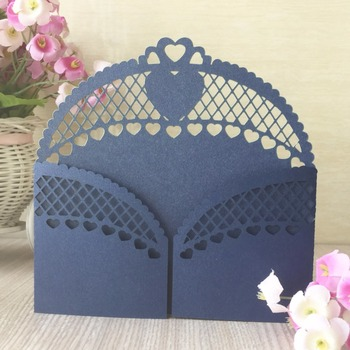 30Pcs/Lot Chic Door Design Laser Cut Wedding Invitation Card Event&Party Supplies Greeting Blessing Card