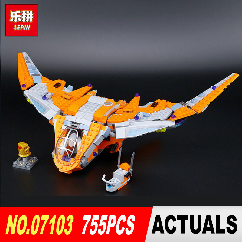 Lepin 07103 Marvel Super Heroes Avengers Infinity War Thanos Ultimate Battle Model building blocks Bricks toys LegoINGlys 76107 super heroes captain america civil war airport battle iron man compatible legoinglys mobile set building blocks bricks toys