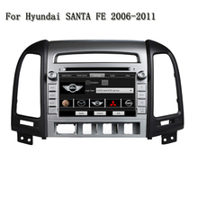 2 Din HD Video GPS Navi Stereo Audio Screen Mirror Link &OBD2 Android 5.1 Car DVD Player For Hyundai SANTA FE 2006-2011